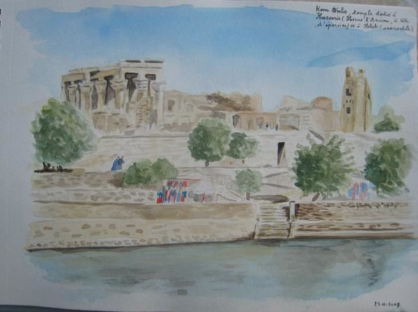 Album - l-Egypte-en-aquarelles