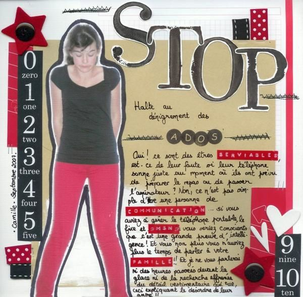 Album - mes pages 30x30