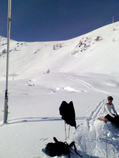 Histoire de toucher la neige un 9 novembre !