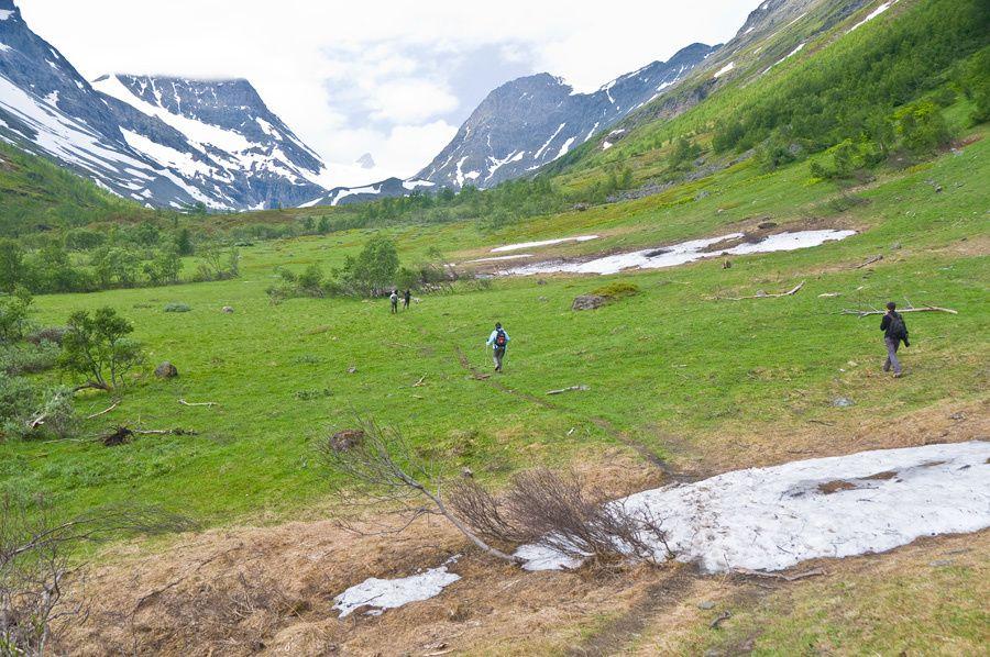 Album - Norvège, les Alpes de Lyngen à Lyngseidet