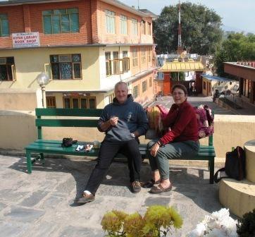 Retraite de Lam Rim au monastère de Kopan, Kathmandu.