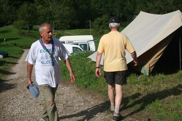 camp de bourdax du 22 au 26 août 2007