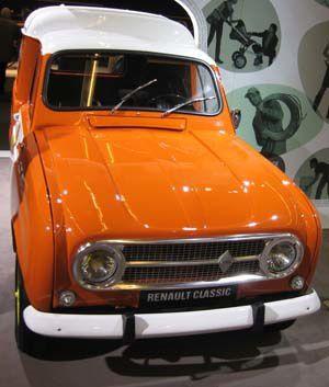 Retromobile 50 ans de la 4L