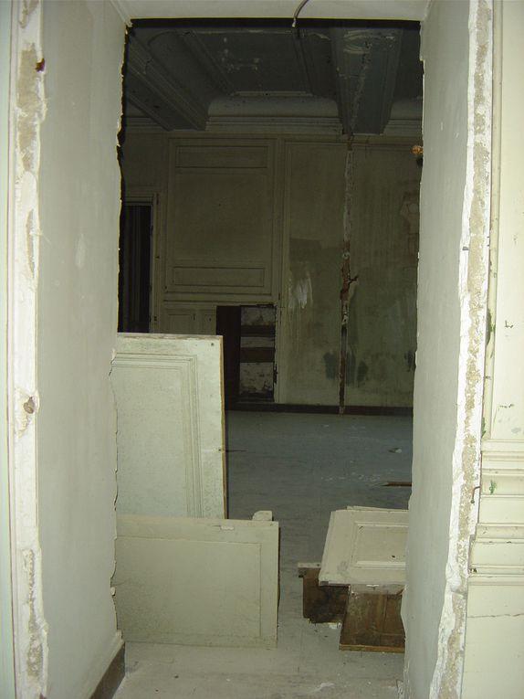 photo de l'intérieur du futur musée Buffon