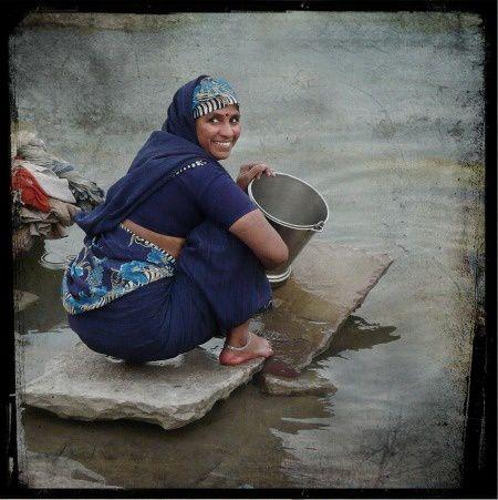 Photographe à Varanasi-Benares
