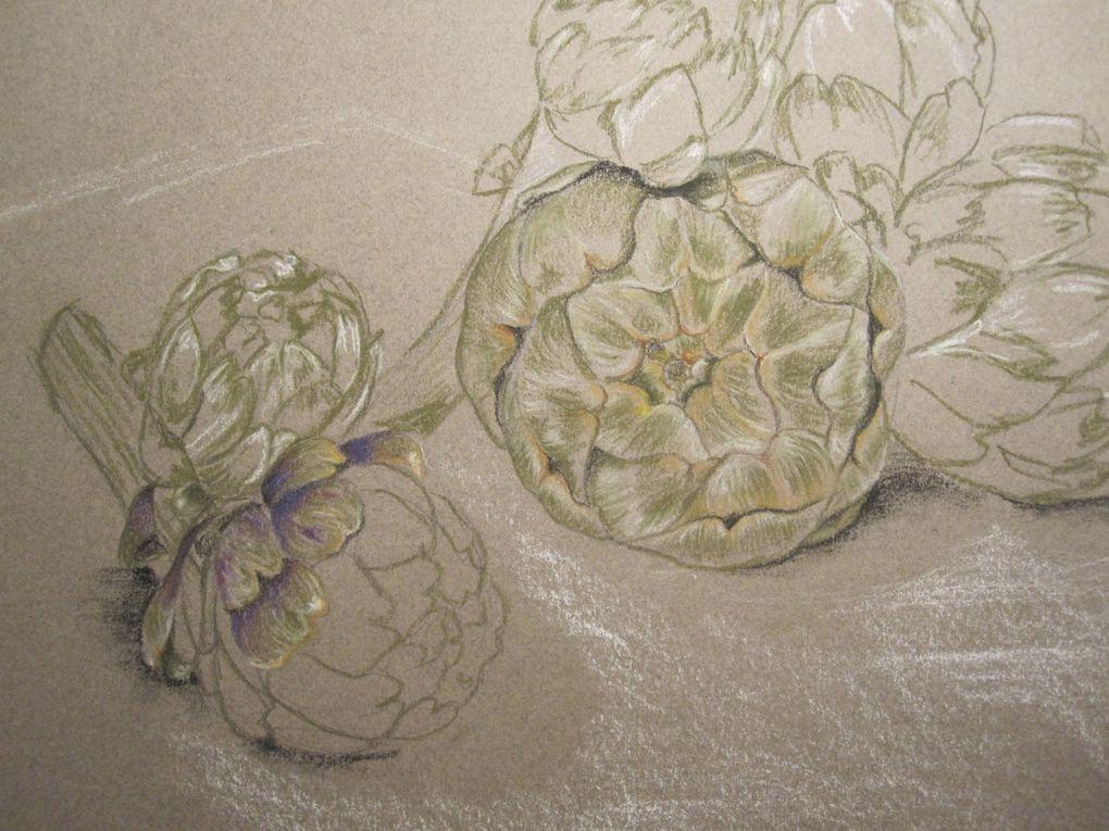 Voici quelques unes de mes peintures. Elles ne sont plus toutes jeunes, mais je vais me remettre aussi &agrave&#x3B; cela via des cours de dessin et peinture tr&egrave&#x3B;s prochainement, je vais essayer de mettre &eacute&#x3B;galement ces travaux sur le site d&egrave&#x3B;s que j'ai un appareil num&eacute&#x3B;rique sous la main...