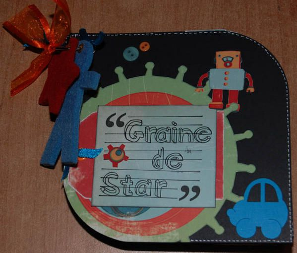 Album - mini-album-graine-de-star