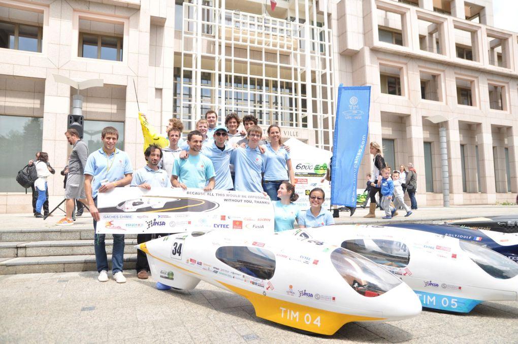 Educ-Eco 2014Colomiers, Haute-GaronneTIM 04: 1er solaire ex-aequo avec 7674km/lTIM 05: premier ethanol avec 2266km/l