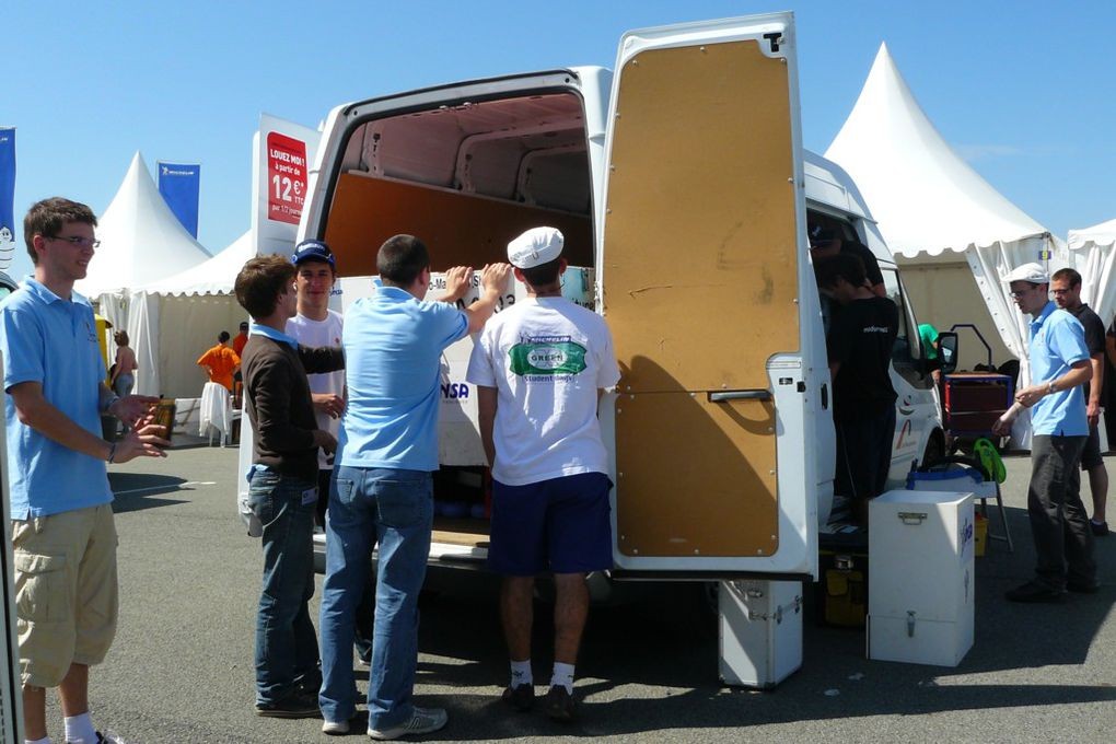 Student Days 2011, organisés par Michelin