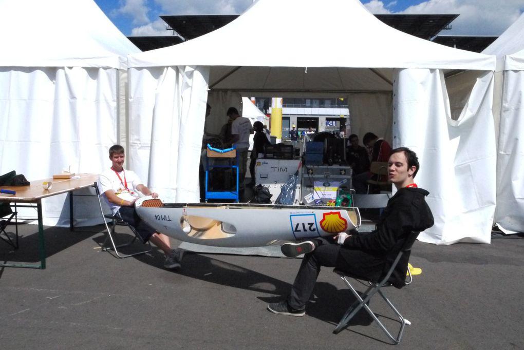 European Shell Eco-Marathon 2011Et deux (grosses) coupes de plus!