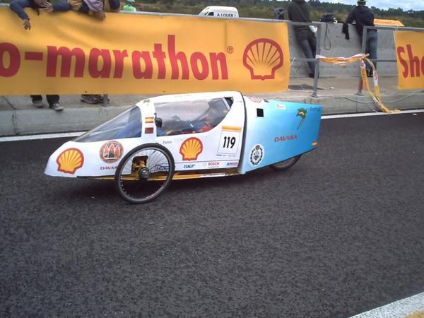 Photos de l'édition 2008 de l'European Shell Eco-Marathon.