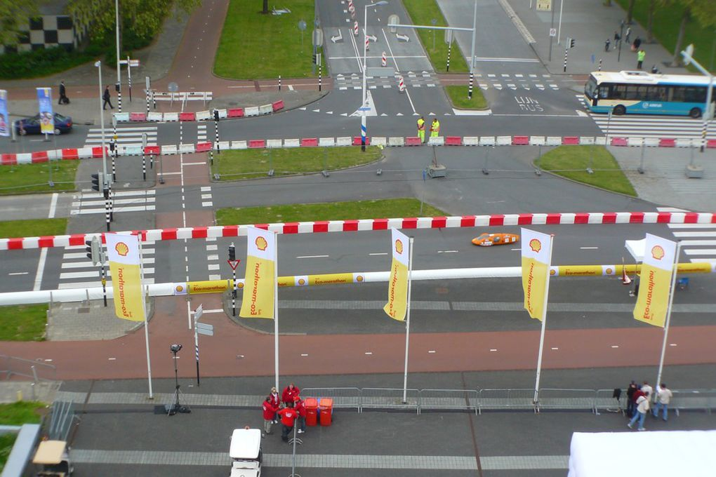 European Shell Eco-Marathon 2012TIM termine premier Ethanol!