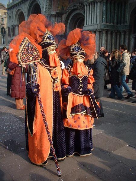 mes photos du carnaval de venise en février 2004