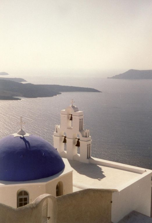 Mes photos de Santorin en septembre 1992