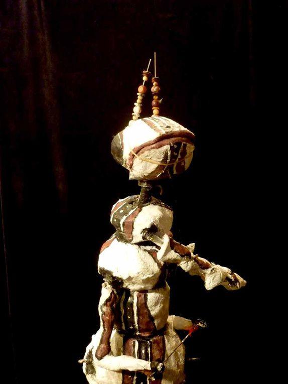 Galerie de portraits des personnages de la Cie Les Mille et une Vies Théâtre de Marionnettes Itinérant