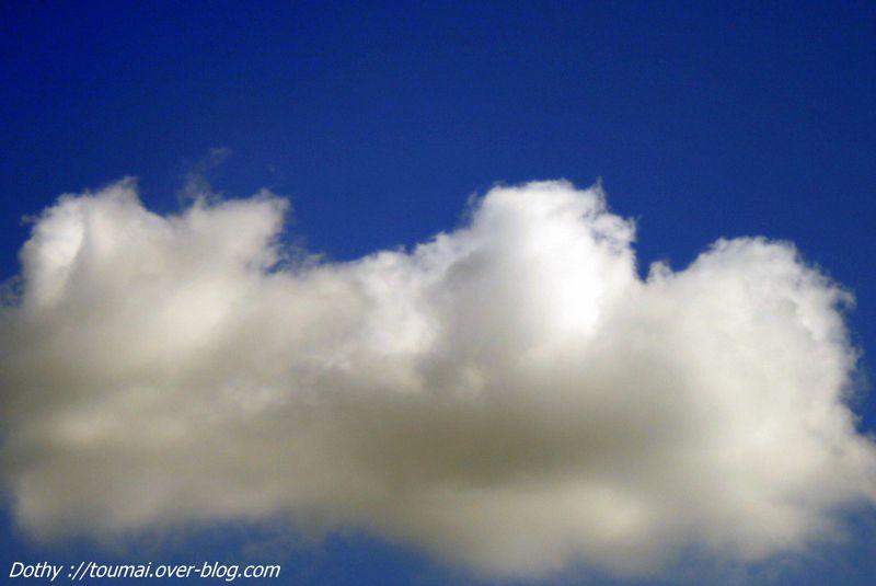 Nous avons tous rêver de planer sur un nuage, de nager dedans ou de s'en faire une couette.Marry Poppin's a de la chance !!!