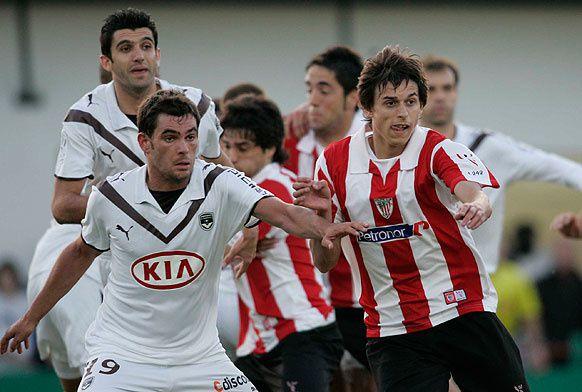 Match de gala entre l'Athletic Club Bilbao et les Girondins de Bordeaux dans le cadre du centenaire de l'Arin Luzien au stade Kéchiloa de Saint Jean de Luz