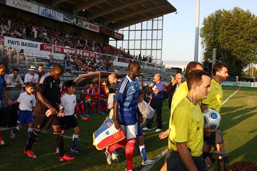 Mercredi 12 Août 2009 au Stade Aguilera de Biarritz - En amical, Match International Espoirs : France - Pologne