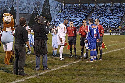 32ème de finale de la Coupe de France 2006/2007 : Aviron Bayonnais - Olympique Lyonnais