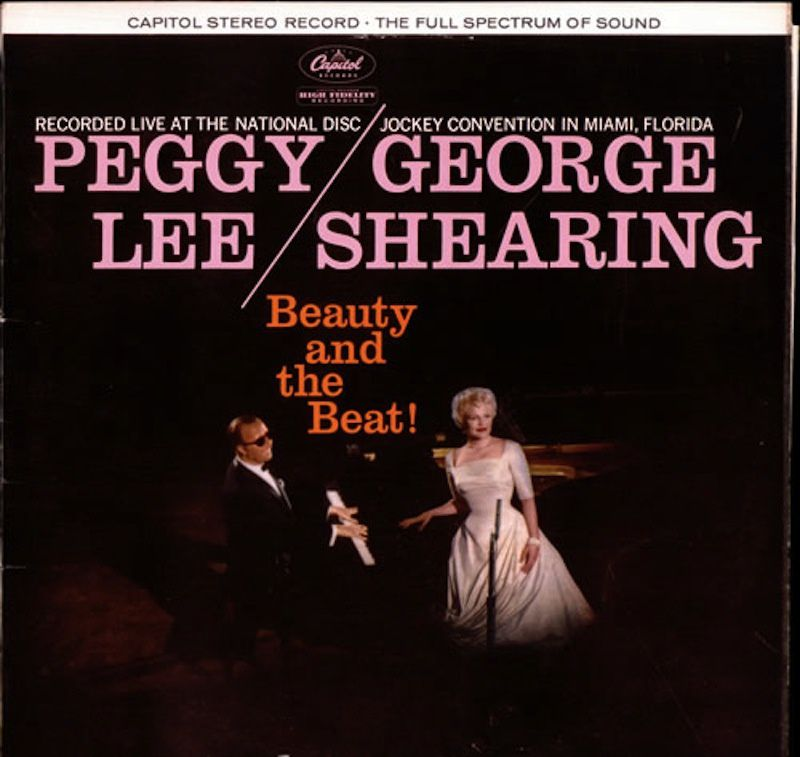 Une sélection de pochettes de disques du grand George Shearing (a collection of George Shearing's most fancy record covers)