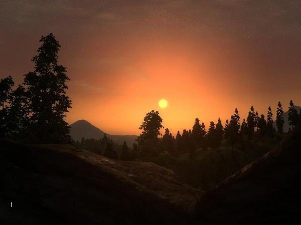 Album qui vous montre la beaut&eacute&#x3B; des paysages dans Oblivion...