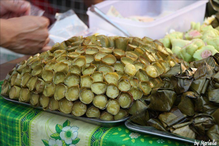 Chiang Mai, Sunday Market : goûter