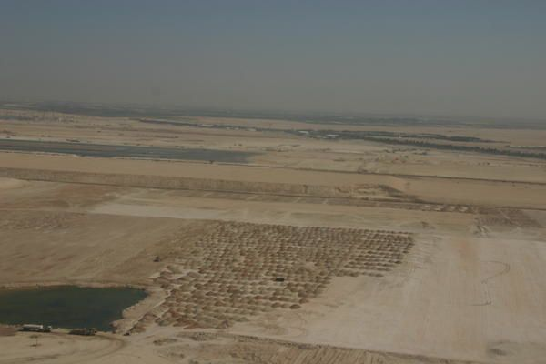 Abu Dhabi : vu du ciel