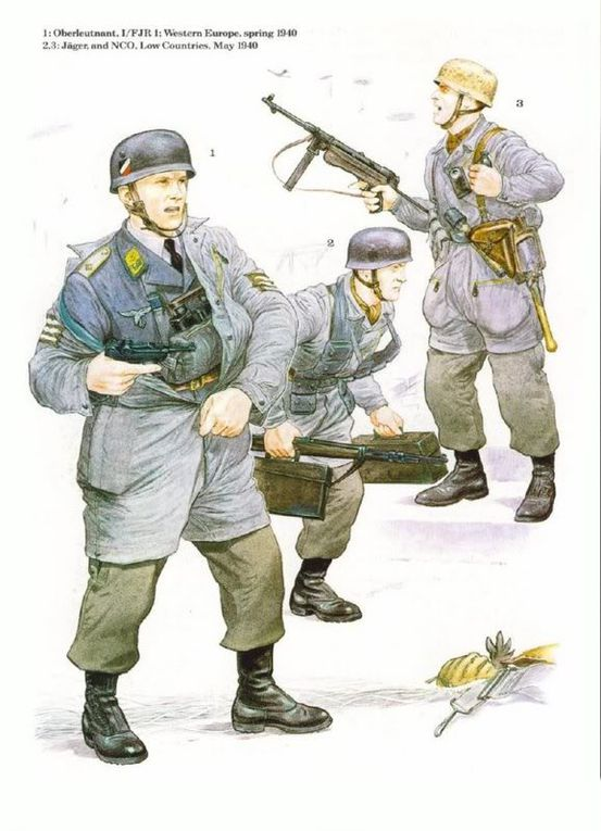 Album - DRAWINGS-UNIFORMS-WW2