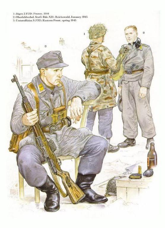 Album - DRAWINGS-UNIFORMS-WW2