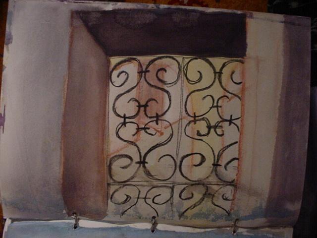 quelques dessins et peinture de denise Sauzon.