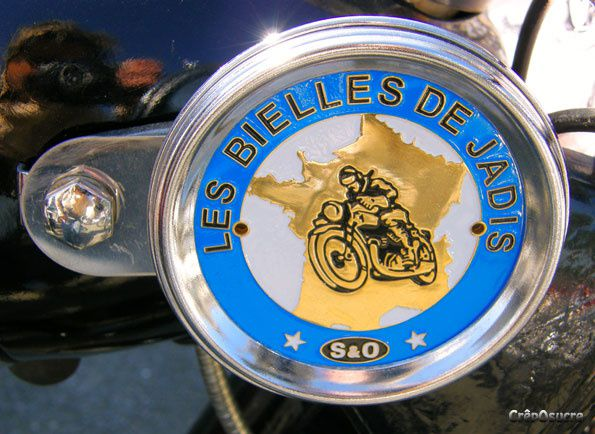 Week-end de septembre 2008, randonnée du Terrot Club de France de motos anciennes en Bretagne.