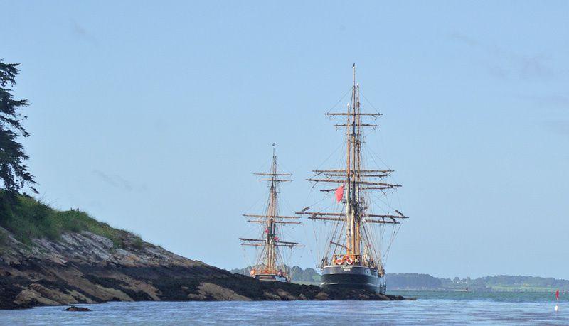 1 semaine de rassemblement de vieux gréements de tous horizons dans le golfe du Morbihan tous les 2 ans lors de l'ascension