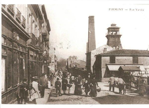 quelques photos d'archives sur Firminy à destination des élèves de 1ière S