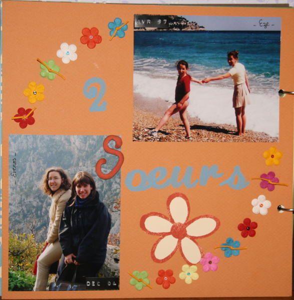 Album r&eacute&#x3B;alis&eacute&#x3B; pour les 18 ans de ma petite soeur en Juillet. Un boulot monstre, mais un cadeau qui lui a fait tr&egrave&#x3B;s plaisir!!