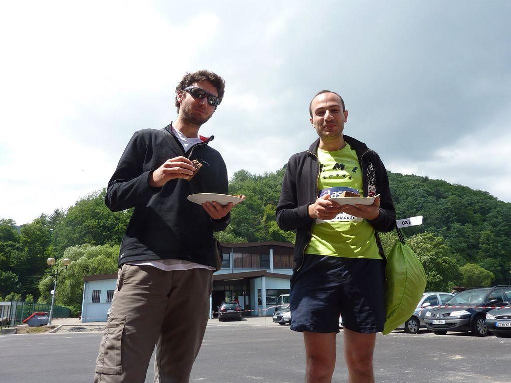 Coupe du Monde de course en montagne eAlsace. Montée du Grand Ballon le 2 juin 2011je termine 8ème