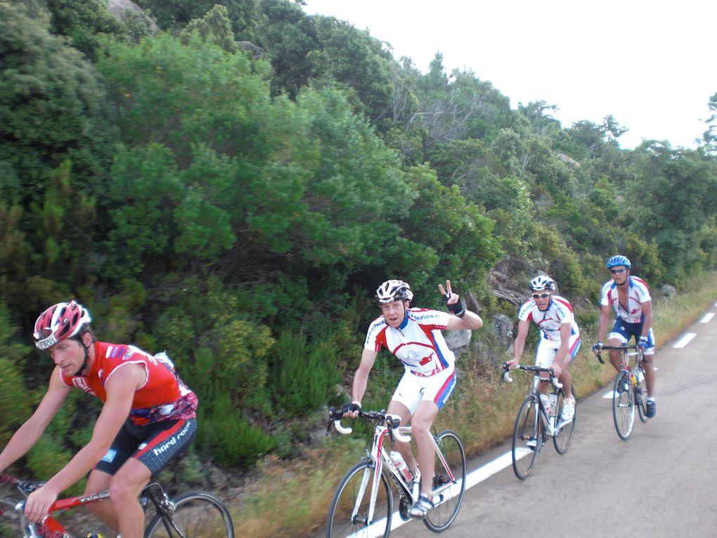 Les photos du stage en Corse en juin 2010, de l'Equipe A. Super stage, dur et plaisant.