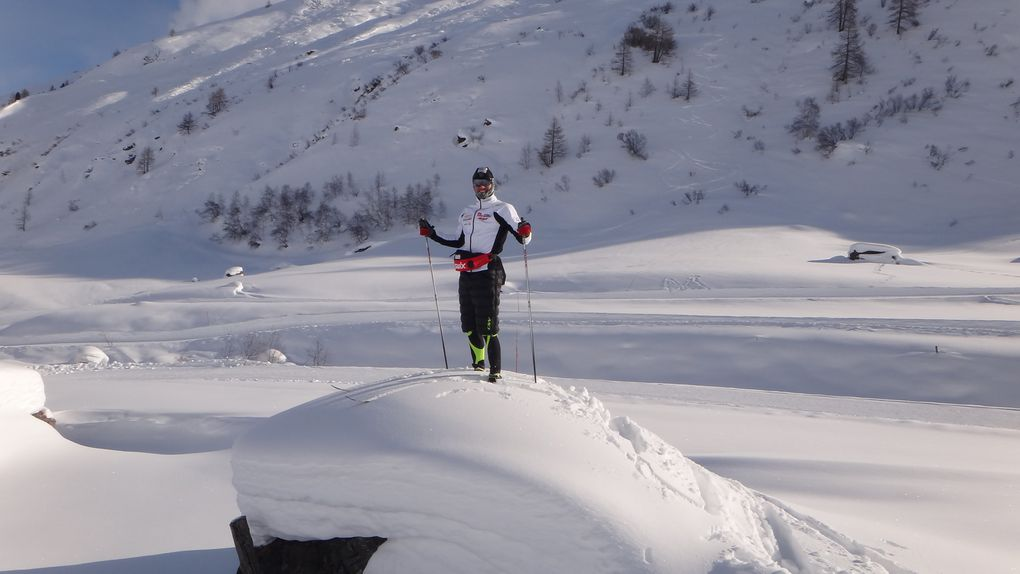 stage de préparation des mondiaux de Val di Fiemme