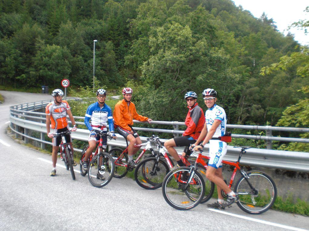Stage avec l'Equipe A en Norvège à Aure et Kristiansund
