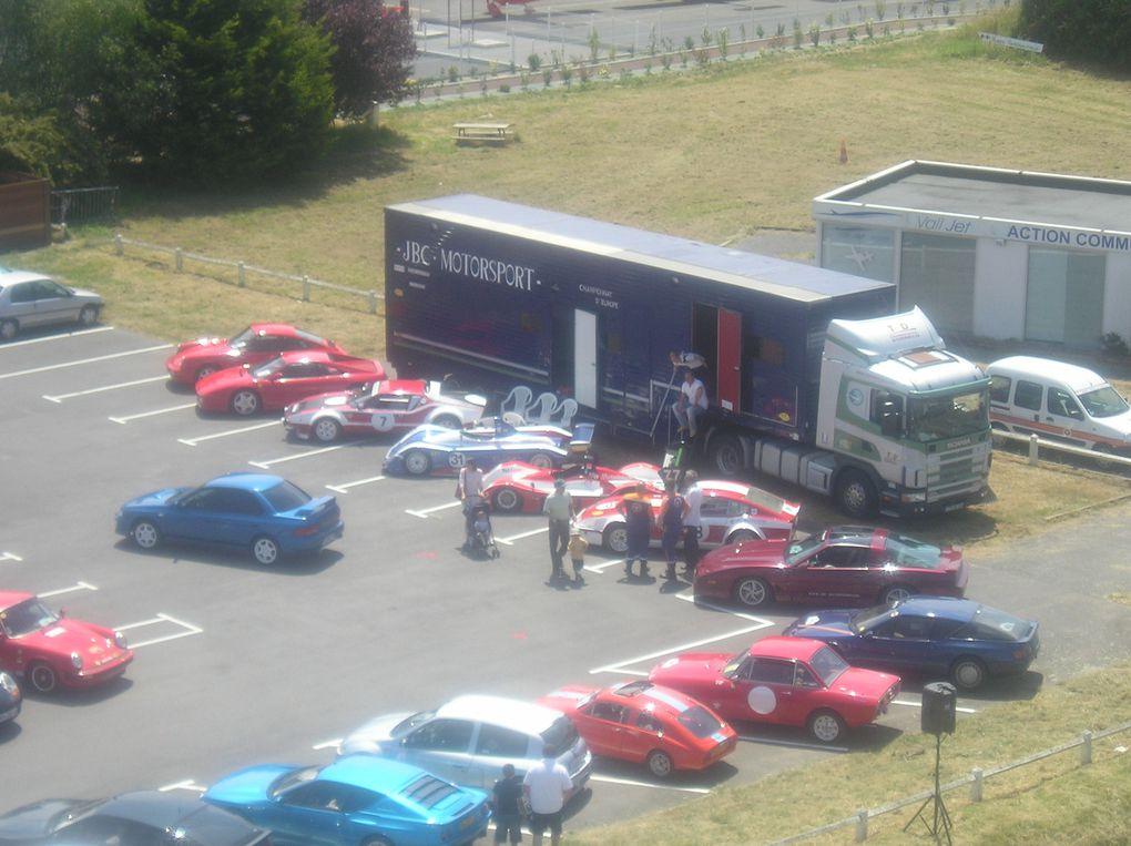 6 eme retro automobile de La Baule 27 et 28 juin 2009 à l'aérodrome