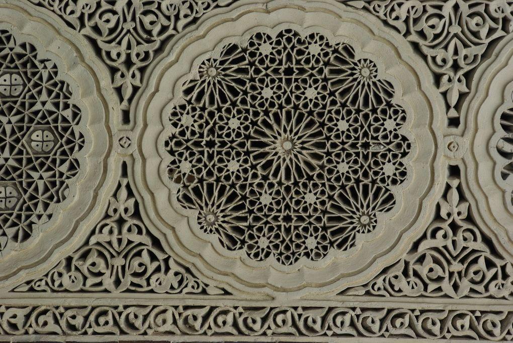 Article associé sur ce blog : Patio et cour d'honneur de la mosquée de Paris.