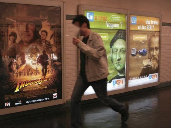 publicité, art éphémère, néon, mur peint