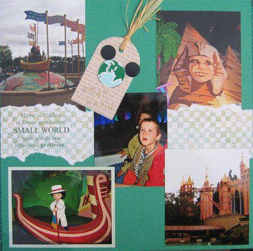 Notre s&eacute&#x3B;jour &agrave&#x3B; Disneyland en septembre 2005.