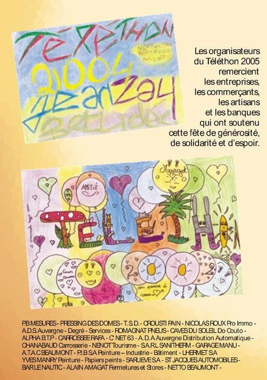 Album - programme-telethon 2005