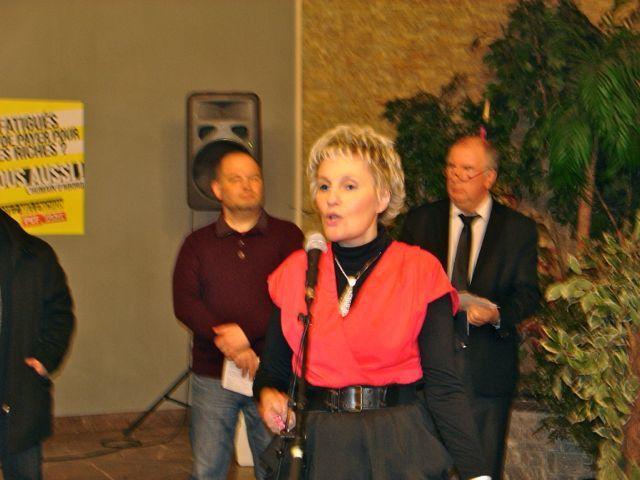 Cérémonie des Voeux de la Section PCF de l'Agglomération Roubaisienne, le 27 janvier 2012
