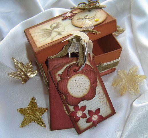 Petits pots, canvas, mémo, boîtes et autres... récupération ou cartonnage...