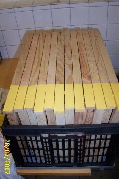 les matériels que nous utilisons pour l'exploitation apicole