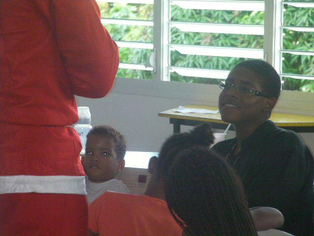 Photos de noel des enfants de Mfoa