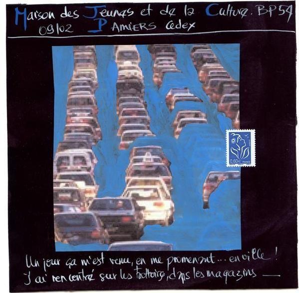 de 1968 à 2008 en passant par l'urbanisme, l'art postal dans tous ses états