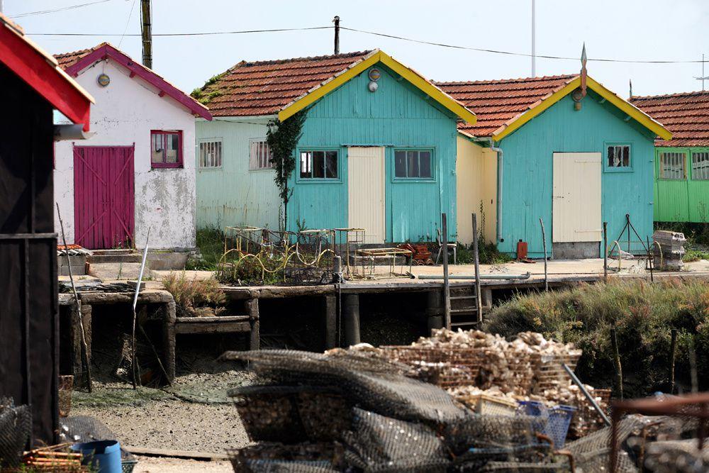 Baraques Ostreiculteurs Oléron - Photos Thierry Weber Photographe La Baule Guérande