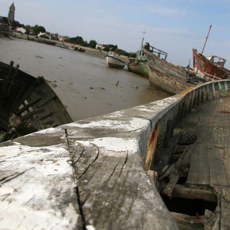 Les bateaux oubliés - Photos Thierry Weber Photographe La Baule Guérande